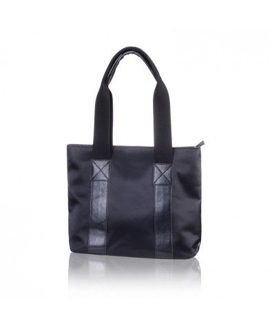 Rosebay Black is Nella Bella's everyday handbag. Slightly different front and back designs offer variety of appearance. Carrying straps are wide and comfortable allowing more and more to go inside without digging into the owners shoulder. Dust bag included.