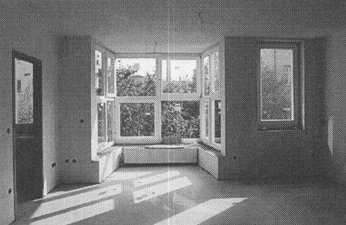 Architectural Drawings, Models, Photos, etc... — Hermann Czech - Wohnhaus Petrusgasse, Wien