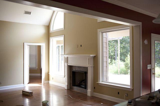 pain color behr raffia ribbon  Bedrooms  Paint colors for living room Living room colors Room colors