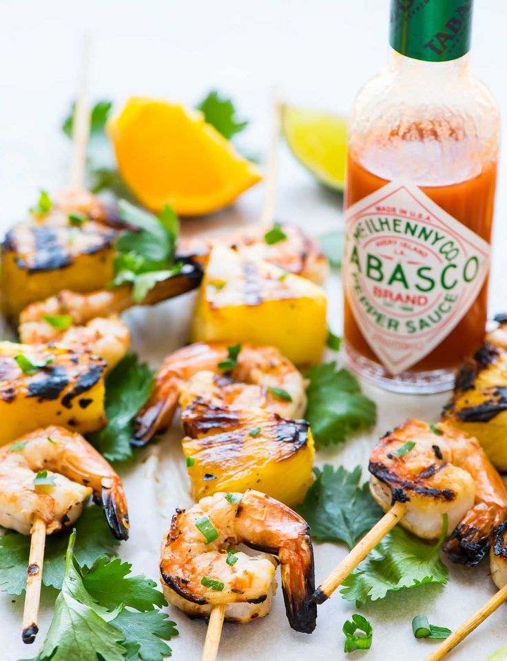 Coconut Pineapple Shrimp Skewers recipe — These shrimp kabobs are AMAZING. By far the easiest, best way to cook shrimp that turn out flavorful and juicy every time. Perfect for summer grilling and parties. @wellplated