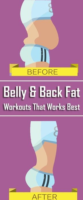 10 Effective Belly and Back Fat Workouts That Works Best – Try It