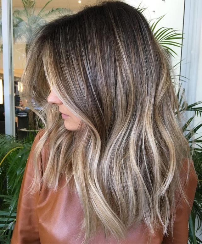 Hellbraune Haare Aschblond Färben | Aschblond färben