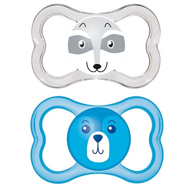 """MAM """"AIR"""" 2x Dummy Pacifier Soother"""