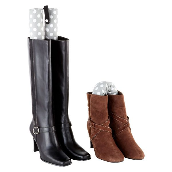 Smelly Boots A Problem? Try A Set Of Bamboo Charcoal Tall Boot Shapers From  The