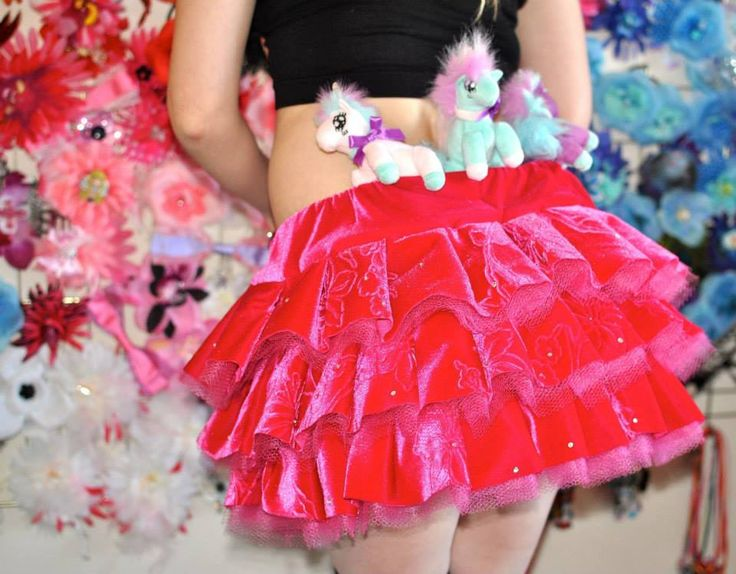 Me Modeling in custom Glitter Bubbles tutu. Soon to become Pinkie Pie cosplay - Watch This Space!!! (www.glitterbubbles.com)