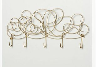 Awesome wire wall hooks