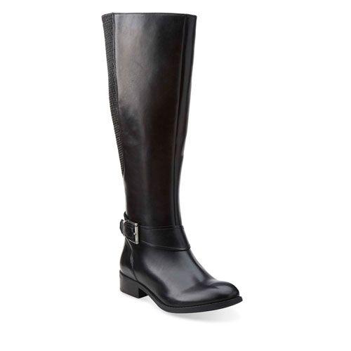 db61a95d1ebe Clarks Pita Arizona Tall Boots - Black