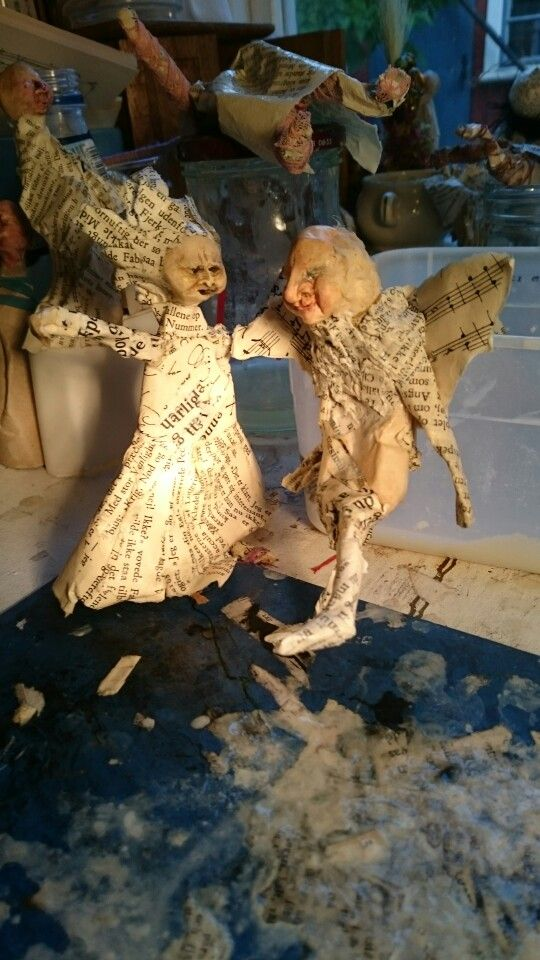 Book angels, work in progress