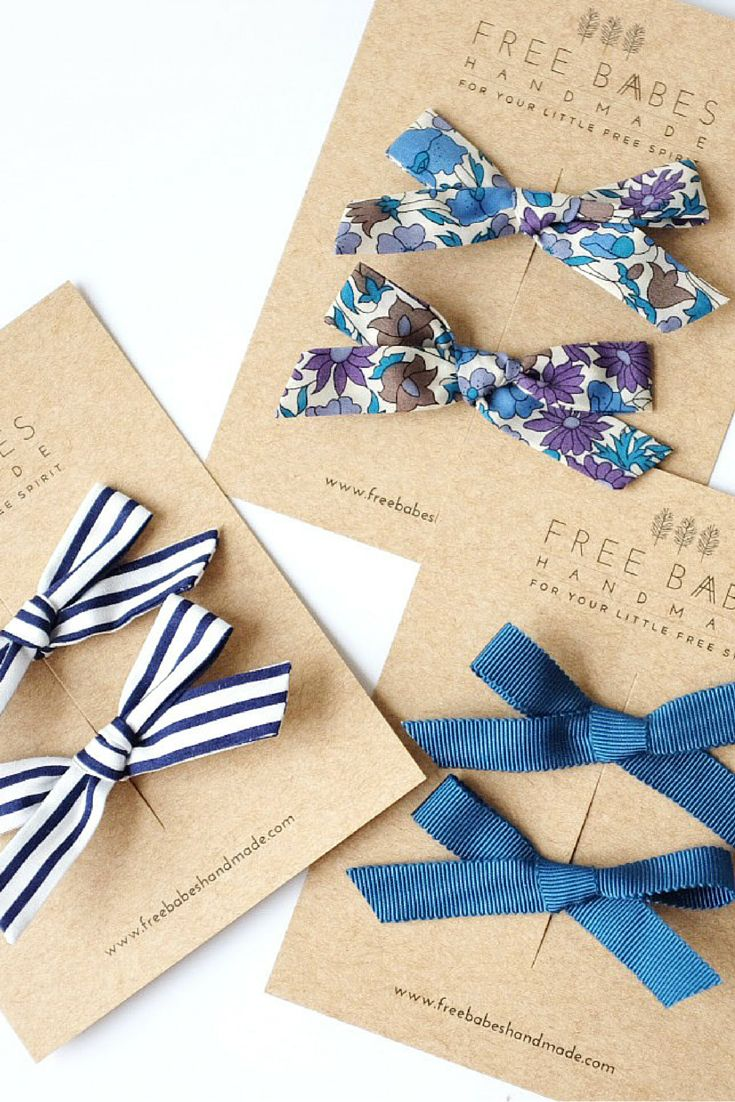 handmade hair bows ideas