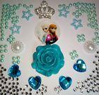 R3  Rose Princess Crown 3D DIY Cell Phone Iphone4 4/5/6S Case Deco Den Kit