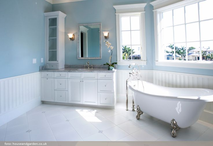 Prostorné koupelny s noblesou