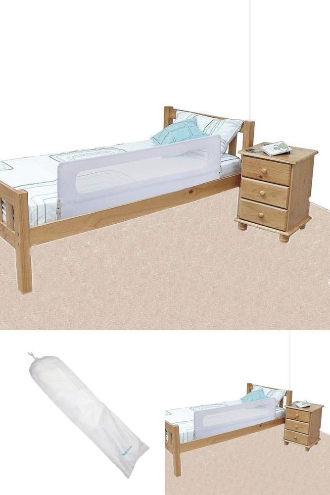 Toddlers Bed Rail Extra Wide Portable Safety Guard Barrier