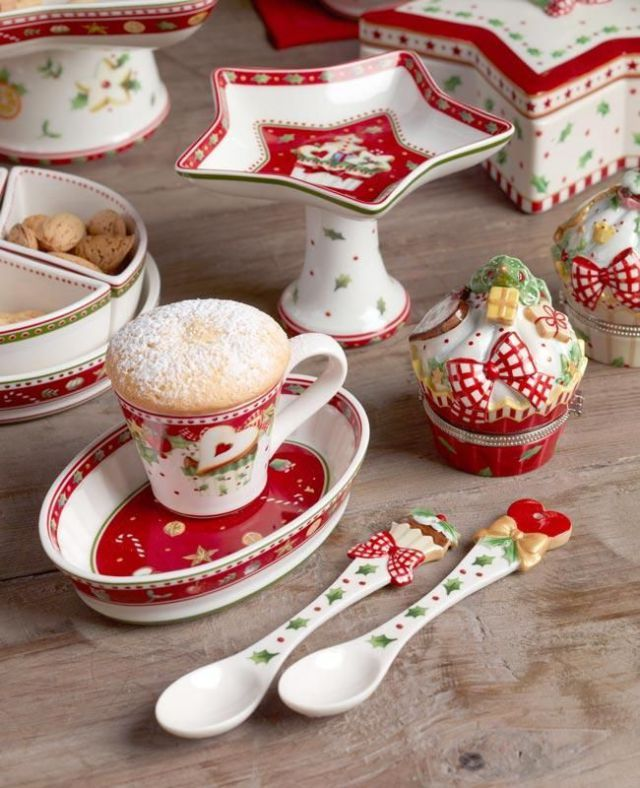 57 Beautiful Christmas Dinnerware Sets: Villeroy and Boch Christmas 2013