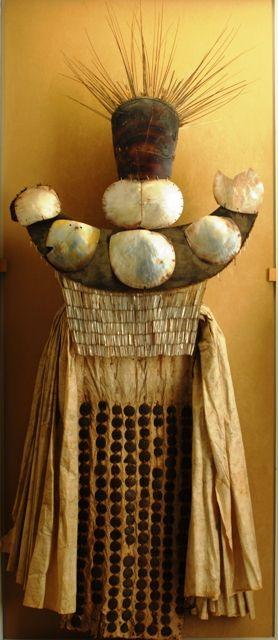 Abito da lutto che gli indigeni di Tahiti chiamavano Heva. Acquisito dall'esploratore J. Cook