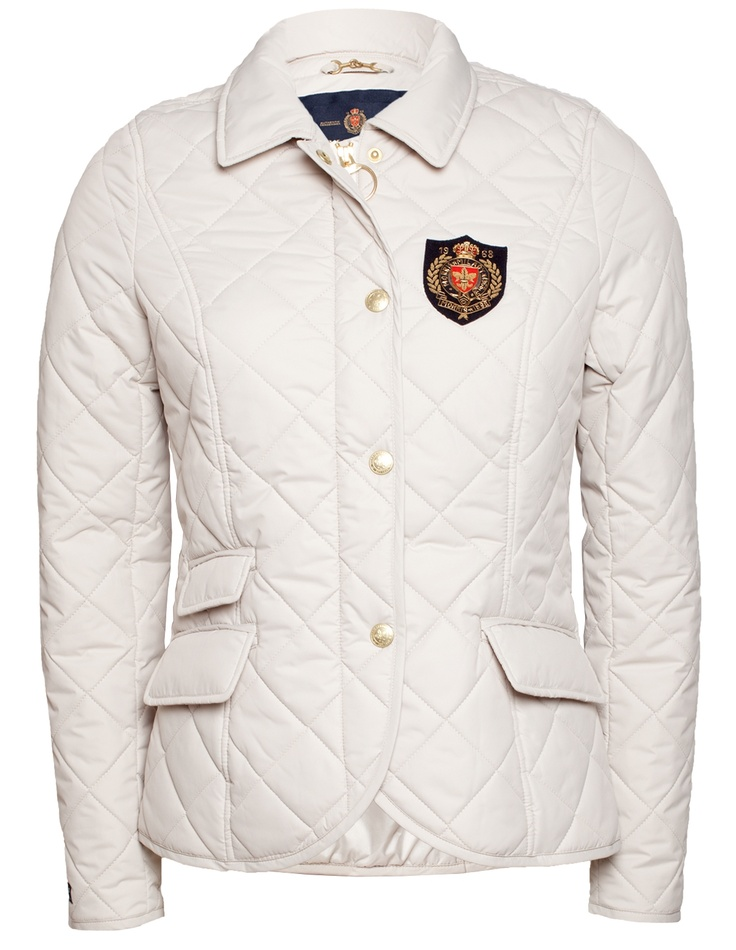 Morris Lady Audrey Quilted Jacket Offwhite