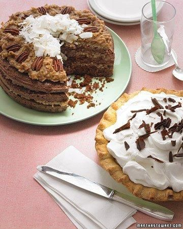 Comfort Desserts // Chocolate Cake with Coconut-Pecan Frosting Recipe