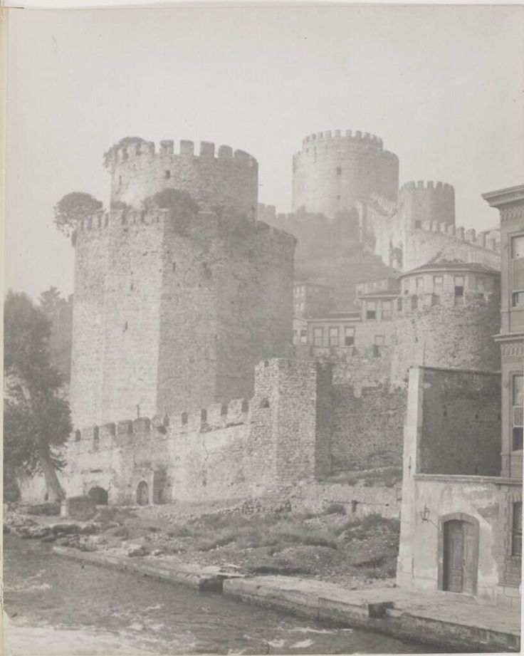 Rumeli Isar by Marcel Jusserand (1900-1910 #istanbul) #Constantinople #RumeliHisarı #istanlook