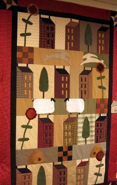 Primitive Quilts on Pinterest | Old Quilts, Quilts and Antique Quilts