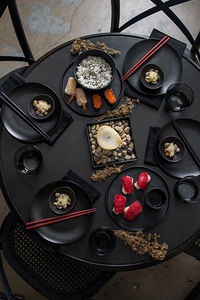 Zen Asian-Inspired Table Setting