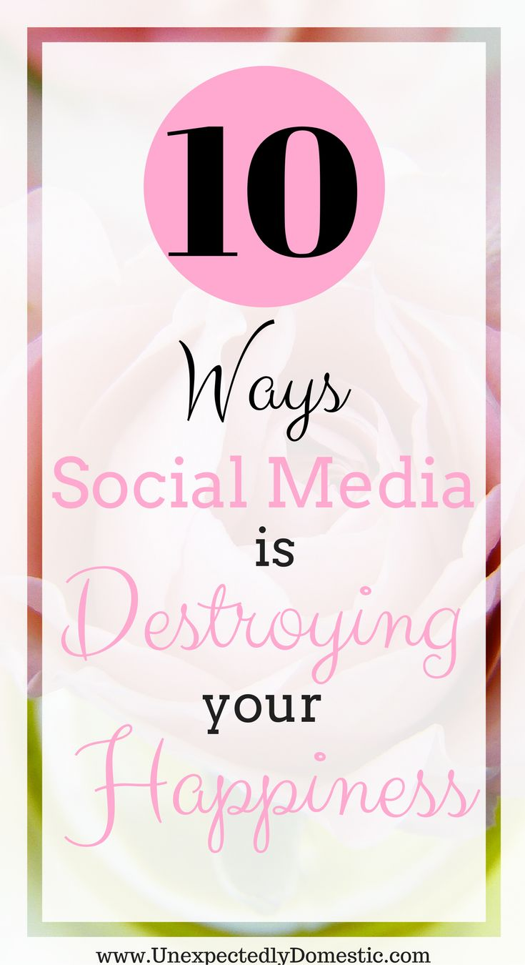Quit comparing yourself to others. Boost your happiness and reduce depression with a social media detox.