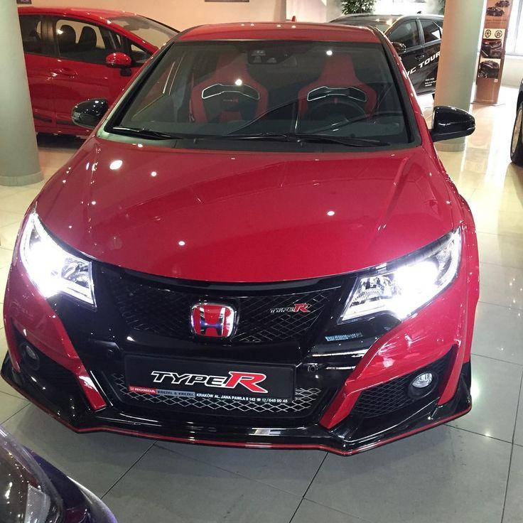 Nowa Honda Civic Type-R w kolorze czerwonym dostepna jest już w Honda Kręzel & Krężel: www.krezel.pl