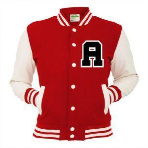 Custom baseball letter jacket