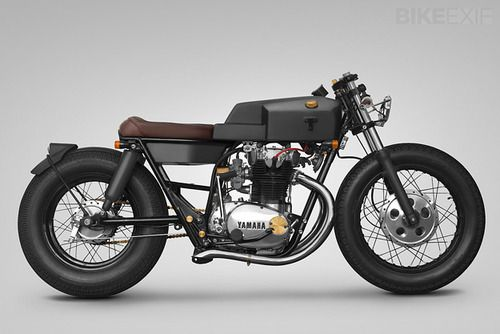 sewerbomber:  this clean custom Yamaha XS650 by Thrive...