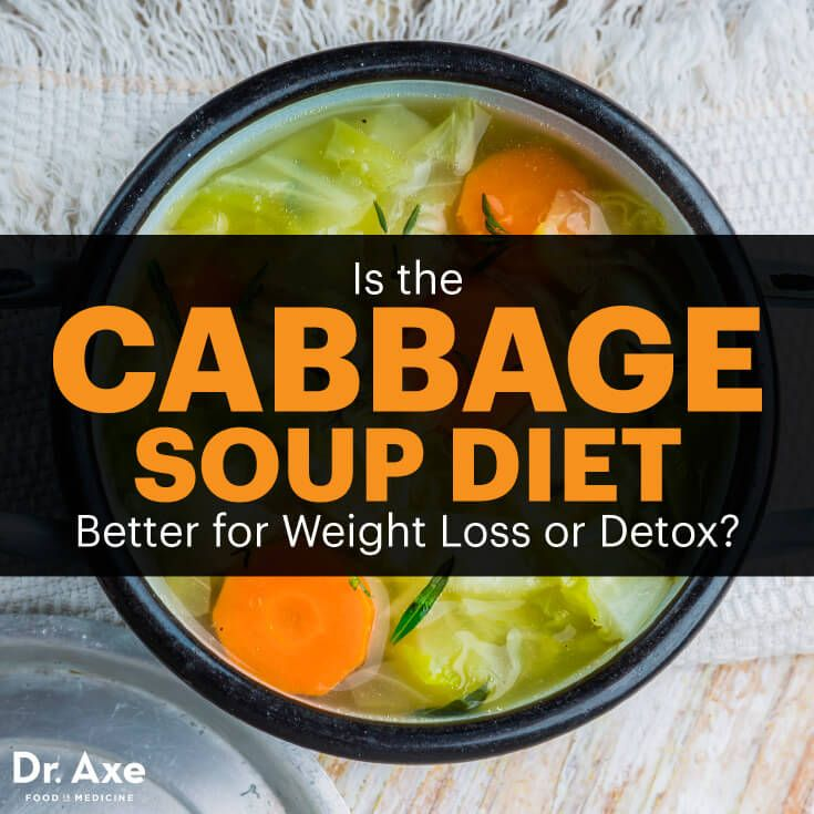 Cabbage soup diet - Dr. Axe