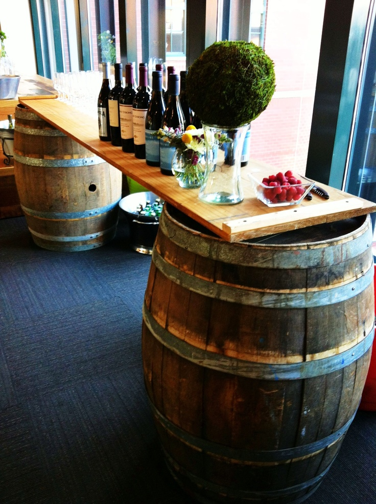 14 Best Wine And Whiskey Barrel Bars Images On Pinterest