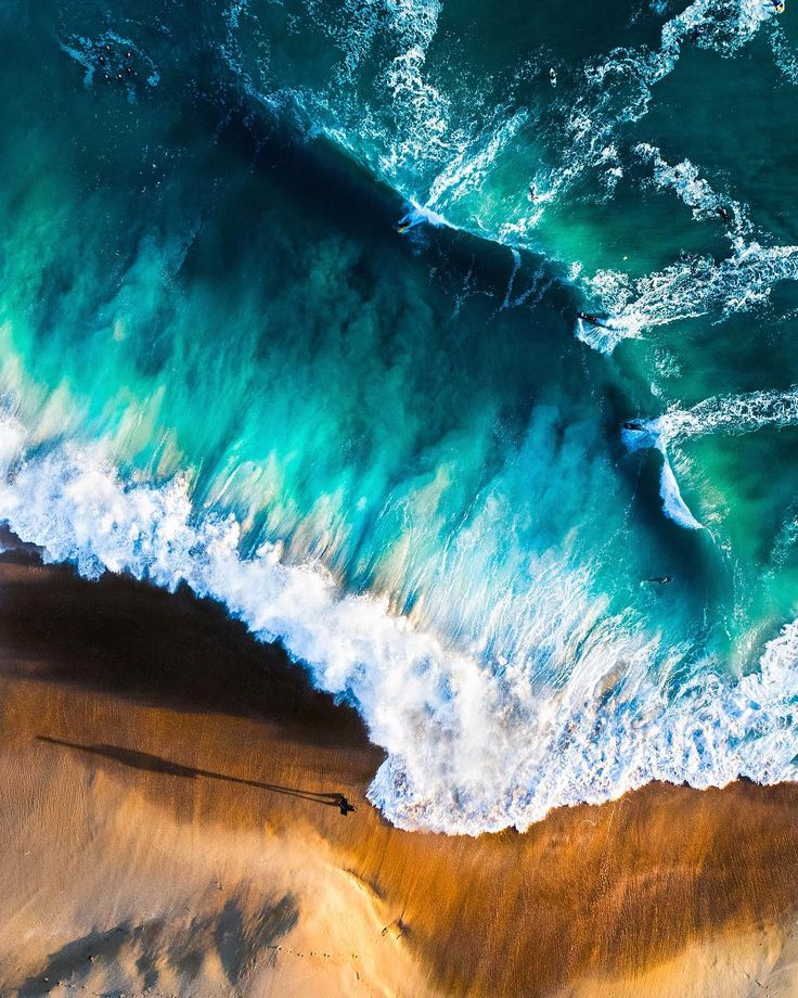 California Beaches From Above: Drone Photography by Emily Kaszton #inspiration #...
