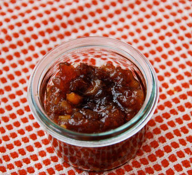 Meyer Lemon Cherry Chutney Recipe — Dishmaps