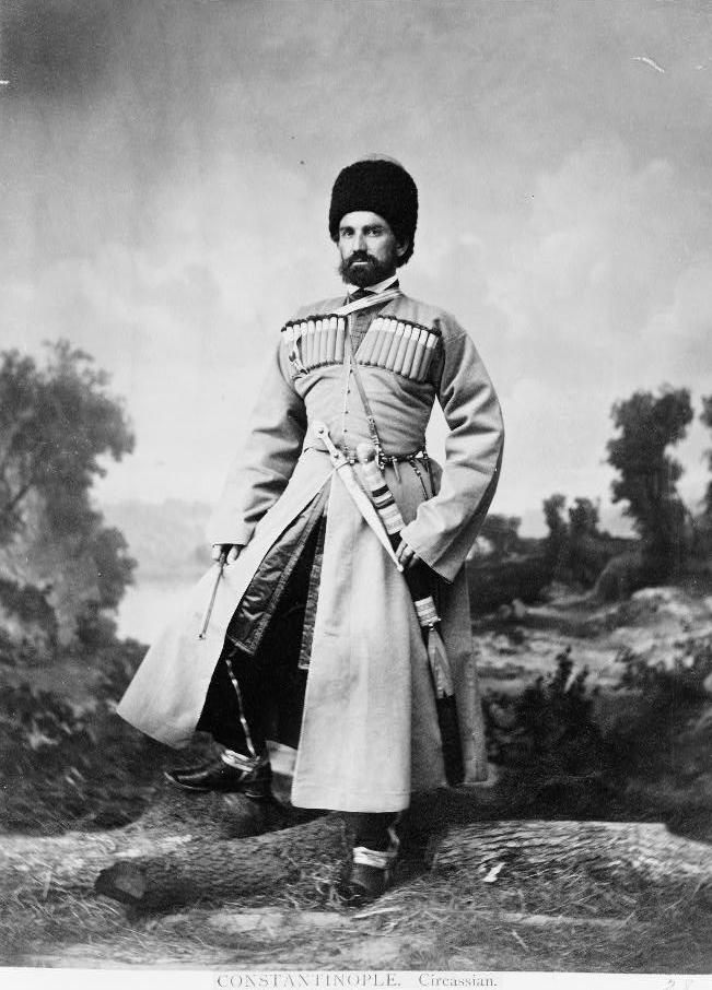 Kaukasier - Abdullah Freres - Istanbul 1865