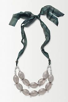 Rose Ribboned Necklace