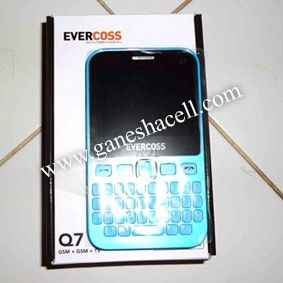 Evercoss Q7, QWERTY Phone, Design Mantaabss