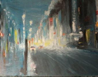 Oil Painting Far into the night - Edit Listing - Etsy
