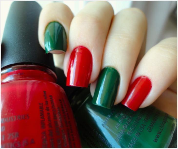 144 Christmas Nail Designs Red And Green Christmas Nail Designs Christmas Nails Easy Holiday Nail Art