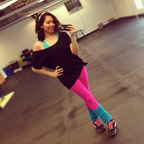 Totally 80s Dance Fitness Party - The Chic Life. Includes my full class playlist. #dance #dancefitness #zumba