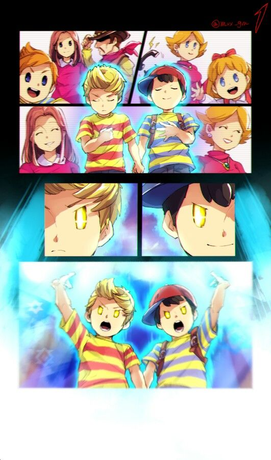 Pin by Frissy♡ on Mother/Earthbound | Super smash