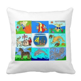 Disney Pictures Toddler Pillow