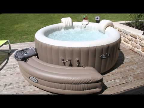 les 25 meilleures id es de la cat gorie spa gonflable en exclusivit sur pinterest jacuzzi. Black Bedroom Furniture Sets. Home Design Ideas