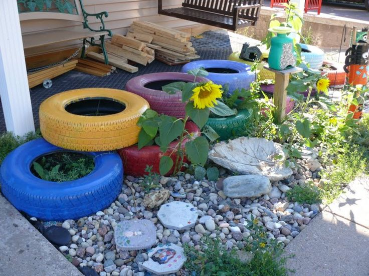 Diy tires 2 17 amazing craft ideas how to use old tires for Tire craft ideas