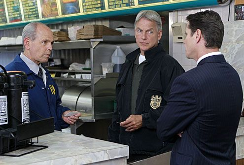 "NCIS - Season 9 - ""Devil's Triangle"" - Joe Spano, Mark Harmon"