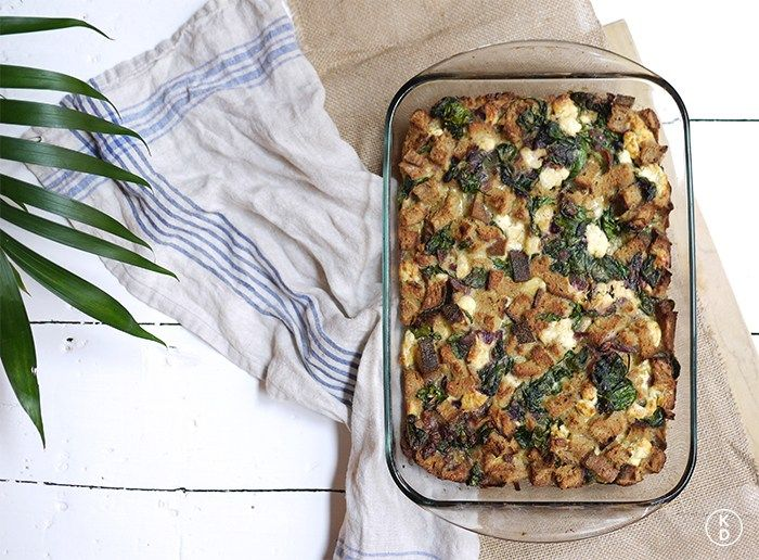 Ever since I saw The Family Stone 10 years ago, I've been making egg strata for Christmas breakfast. Did you see it? Remember that...