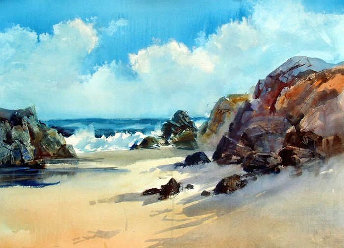Arnold Lowery watercolor - Google Search