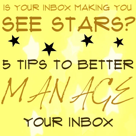 Do you feel like you're on an email overload? If so, there are things you can do! Here are our 5 tips on how you can better manage your inbox. | #TechTip #Email #Productivity #BusinessSolution