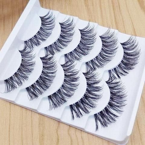 #5001 High Quality Eye Lash Real 3d Soft Long Natural Eye Lashes Makeup Thick False Eyelash Extension Beauty Essentials