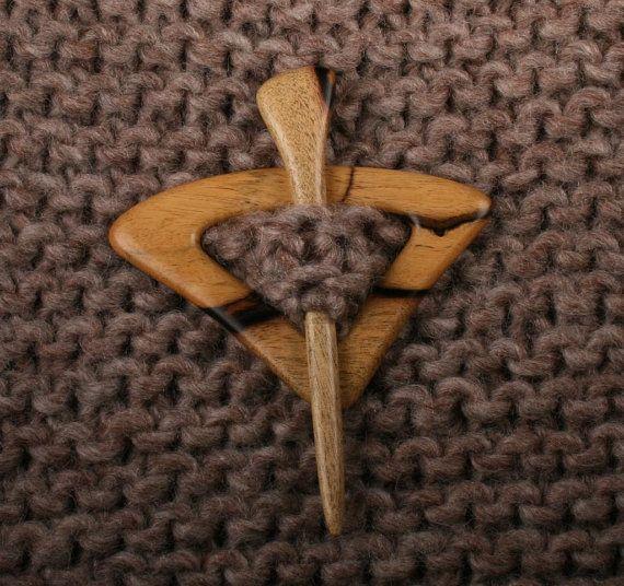 Ebony Shawl Pin Set by South4th on Etsy, $27.00