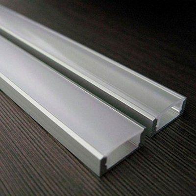 New SO TECH LED Profil mit opaler Abdeckung m f r LED Stripes