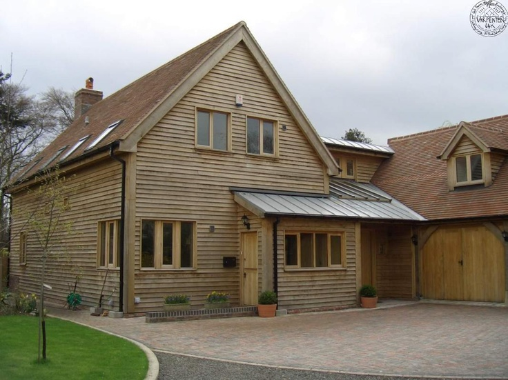 Timber cladding | Carpenter Oak