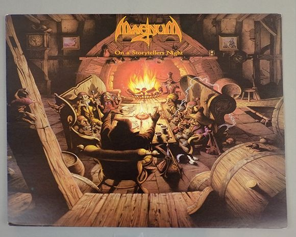 Album Front cover Photo of MAGNUM - On A Storyteller's Night http://www.vinylrecords.ch